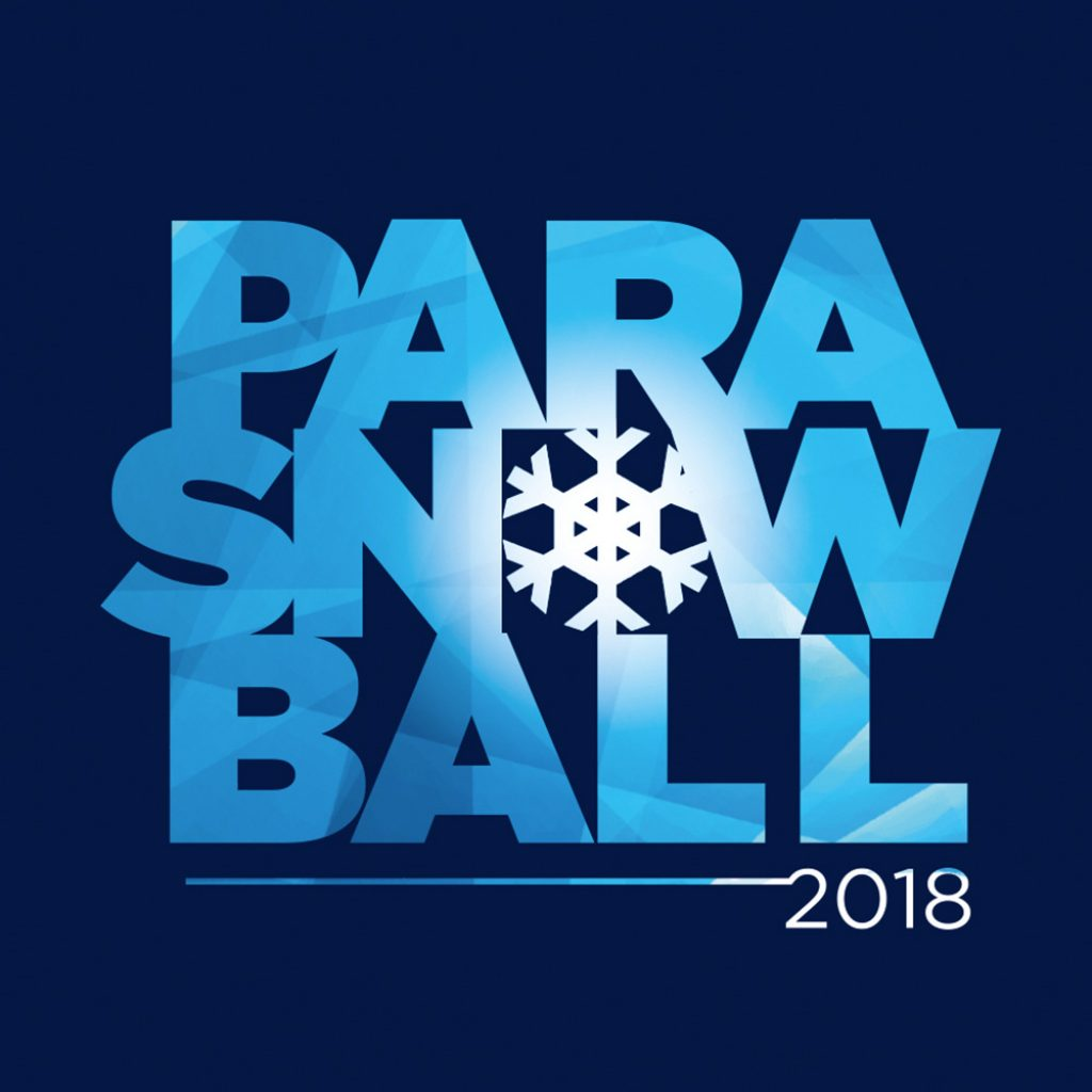 PARASNOWBALL - Annual Disability Snowsport UK and the British Parasnowsport Team fundraising event Branding